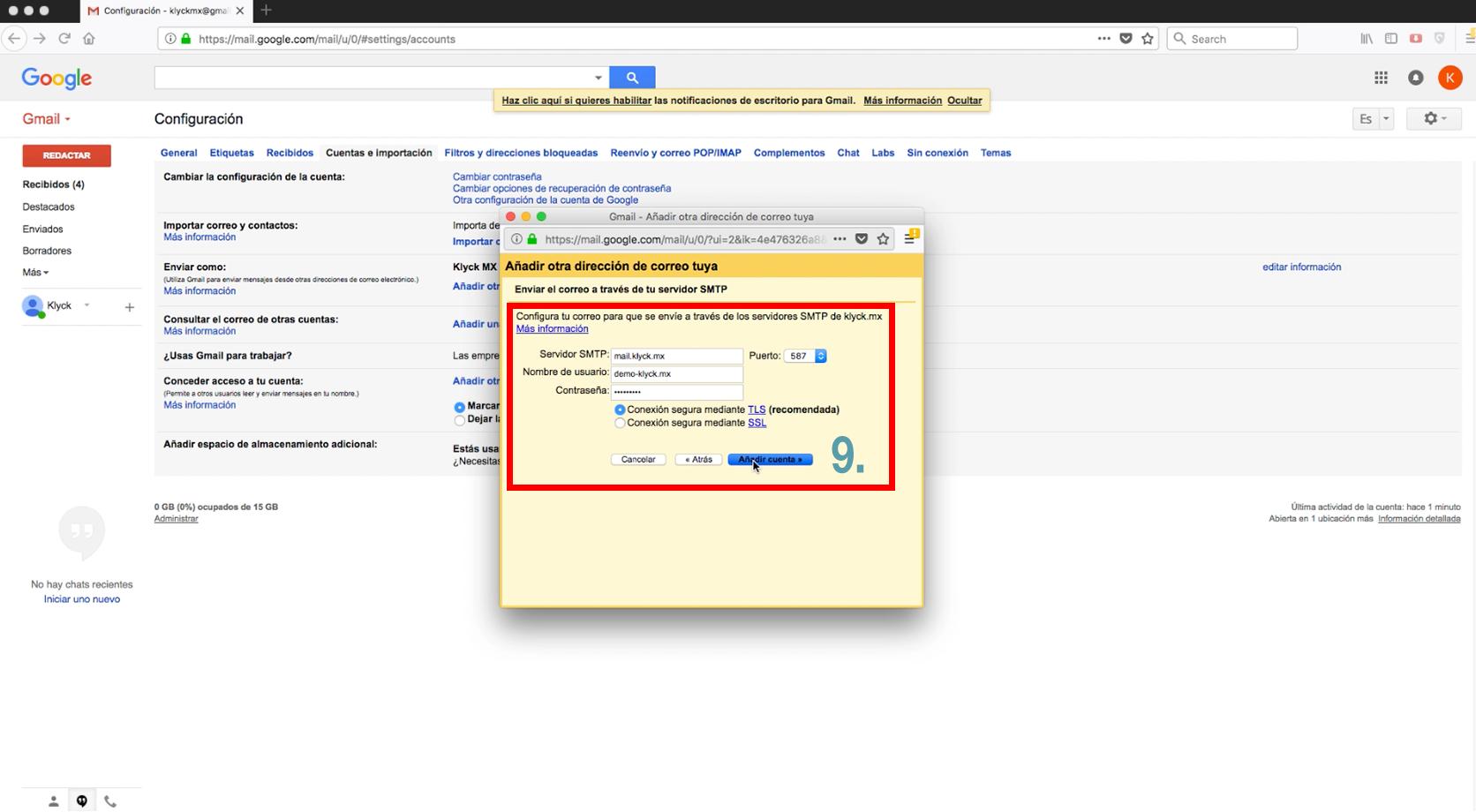 klyck.mx web hosting